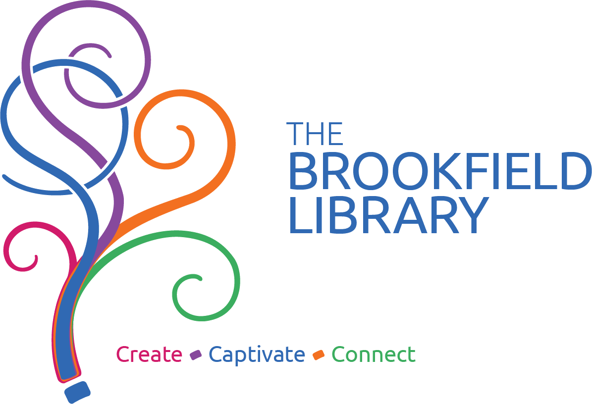 The Brookfield Library Mobile Logo