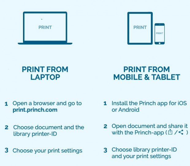 Wireless Printing - The Brookfield Library